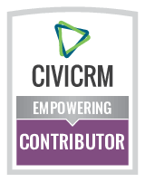 CiviCRM Empowering Contributor Badge